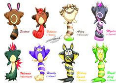 Edwardtcat Sentret Breed Variation Now It S Something A Little Bit More Accurate Pokemon Breeds
