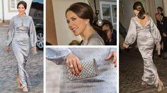 SE BILLEDERNE: Kronprinsesse Marys festlook i 2015