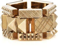 Burberry Pyramid stud bracelet