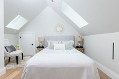 Bedroom designed by Madeleine Design Group in Vancouver's West End neighbourhood. *Re-pin to your inspiration board*