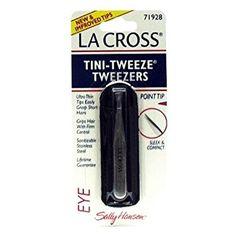 La Cross by Sally Hansen Tini-Tweeze Tweezers Point Tip # 71928 – 3 Tweezers