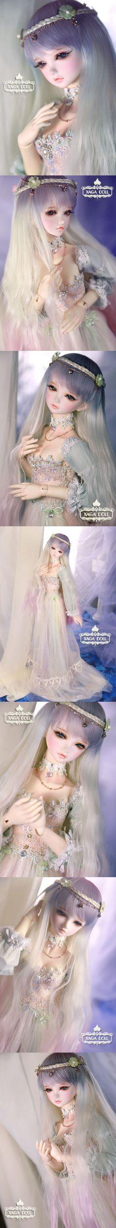 BJD July Girl 59cm Ball-Jointed Doll_Purple Black Obsidia_XAGA DOLL_DOLL_Ball Jointed Dolls (BJD) company-Legenddoll