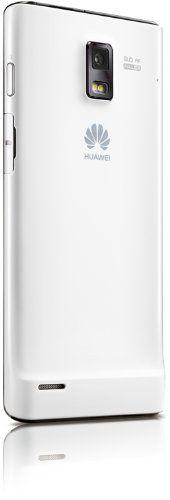 """Huawei Ascend P1 - Smartphone libre (pantalla táctil de 4,3"""" 960 x 540, cámara 8 Mp, 4 GB, procesador de 1.5 GHz, 1 GB de RAM), Blanco (importado)"""