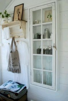 Cool idea...maybe with an old window