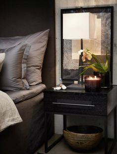 Ideas for Decorating a Dark Bedroom Elegant Home Decor, Elegant Homes, Design Studio, Deco Design, Home Bedroom, Bedroom Decor, Apartment Interior, Luxurious Bedrooms, Modern Interior Design