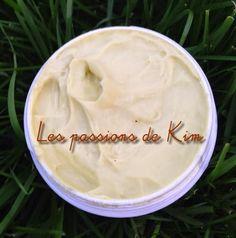 Les passions de Kim: Crème corps peaux sèches