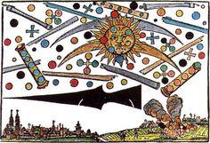 + - Um dos avistamentos de OVNIs mais antigos documentado ocorreu no dia 4 de abril de 1561, ao nascer do sol, em Nuremberg, Alemanha. Ele foi descrito como uma guerra nos céus, com uma grande quantidade de diferentes naves (esferas, cilindros, cruzes e discos). O céu estava aparentemente cheio de máquinas em combate e …