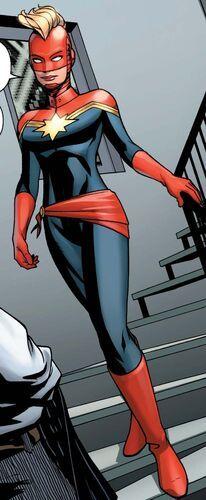Captain Marvel Costume, Marvel Costumes, Marvel Cosplay, Marvel Comics, Marvel Heroines, Marvel Dc, Uncanny Avengers, Young Avengers, New Avengers