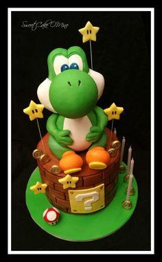 Yoshi - Cake by Sweet Cake O'Mine