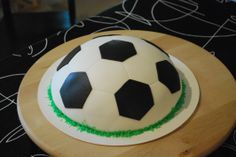 Easy #Soccer #Cake