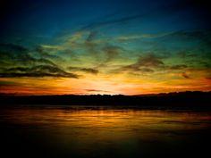 A Florence, Oregon kind of sunset.