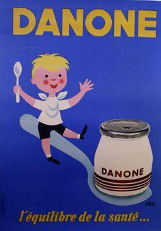 Danone blue