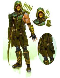 Green Arrow Concept