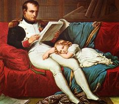 H.I.M. Emperor Napoleon of The French and H.I.H. Prince Imperial Napoleon Bonaparte