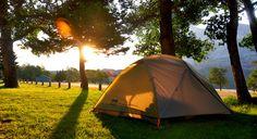 Camping in Waterton Lakes National Park