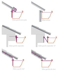 Pin ulembekov ruf construction detail and metal roof diagram ingbert drawings civil engineering structural analysis architecture Shed Roof, House Roof, Roof Design, House Design, Detail Architecture, Steel Roofing, Tin Roofing, Roofing Shingles, Roof Detail