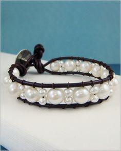 Pearl Ladder Bracelet