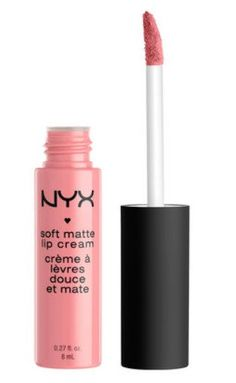 NYX Cosmetics Soft Matte Lip Cream is a mixture between lipstick and lip gloss. This soft and moisturizing lip cream will leave your lips with a smooth and silky feeling.