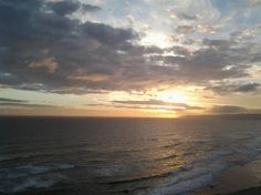 Day drawing to a close at The Views Hotel & Spa in Wilderness, Garden Route Hotel Spa, Wilderness, South Africa, Southern, African, River, Sunset, Drawings, Beach