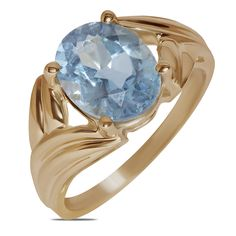 Ebay NissoniJewelry presents - Ladies Fashion Ring w/ Blue Topaz 10k Y/Gold    Model Number:FR8852-Y0BT    http://www.ebay.com/itm/Ladies-Fashion-Ring-w-Blue-Topaz-10k-Y-Gold-/322048735388
