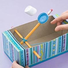 Marshmallow Catapult - Easy Crafts