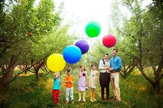 love this idea for family pictures