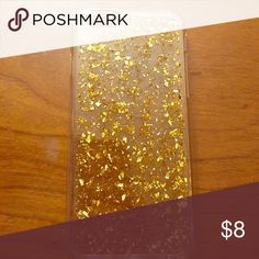 iPhone 6s 📱 gold flake case Brand new without packaging Etsy Accessories Phone Cases