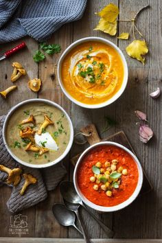 Jesienne zupy krem proste przepisy Soup Recipes, Cooking Recipes, Healthy Recipes, I Love Food, Good Food, Food Allergies, Going Vegan, Food Inspiration, Food And Drink