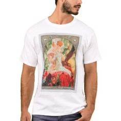 Mucha T-Shirt - good gifts special unique customize style Closet Staples, Retro Vintage, Fitness Models, Best Gifts, Shop Now, Casual, Mens Tops, T Shirt, Unique