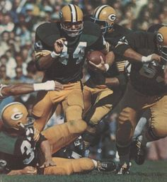 Jim Grabowski Green Bay Packers 1966-70 and Chicago Bears 1970.
