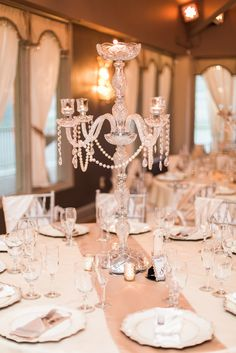 1000 ideas about crystal candelabra on pinterest for Art deco wedding decoration ideas