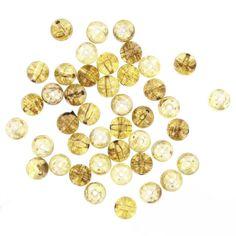 Hobbycraft Med Round Marble Beads Amber | Hobbycraft