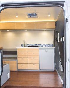 Van Life interior ideas