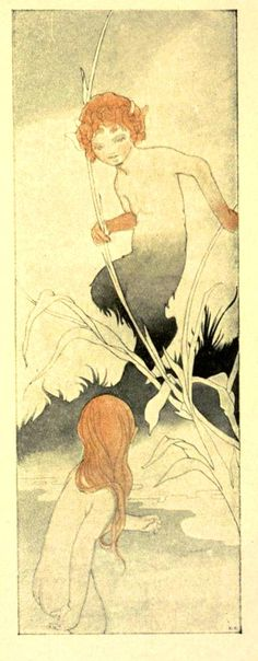 The Sensitive Plant by Percy Bysshe Shelley, as illustrated by Charles Robinson and published. 1911