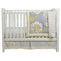 MiGi 3 Piece Crib Set, Sweet Sunshine <3 this for a baby girl's room!