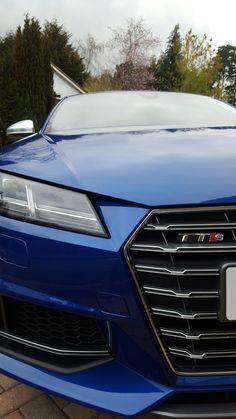 Audi TTS Front Grill - Sepang Blue