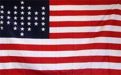33 Star Historical 3'x 5' American Flag