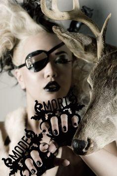 Angel Spit - Amelia Arsenic  Eye patch