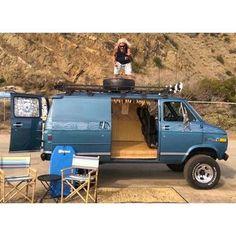 Photo from californiastreetvans Off Road Camping, Van Camping, Camping Life, Camping Stuff, 4x4 Van For Sale, Lifted Van, Chevrolet Van, Gmc Vans, Astro Van