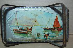 scatola in Latta GIULIO PAGLIARINI 1900 Tin Box Biscotti Romano Lombardo it.picclick.com
