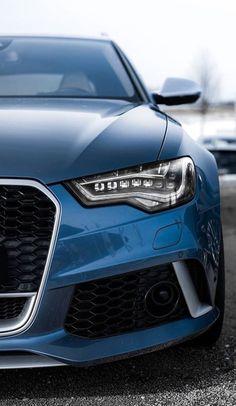 Amazing Unique Blue RS6
