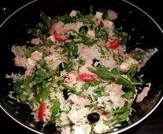 Rezept Reissalat mit Rucola und Feta von Wuzlmama1983 - Rezept der Kategorie Beilagen