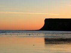 Huntcliff at Dawn ~ Saltburn North Yorkshire ~ Dawn July 2000.
