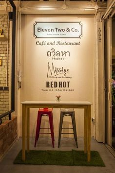 """In the middle of Phuket's Old Town area, between the traditional restaurants and shops we have found """"Eleven Two & Co"""". Tourist Information, Phuket, Restaurant, Traditional, Diner Restaurant, Restaurants, Dining"""