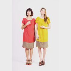 Nouvelle collection #Reversible : Axelle et Norma très contentes ! Merci @sebanado pour la photographie #MadeInMarseille #MadeInFrance