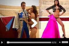 Irina Shayk calienta el ruedo- Mundotoro.com #video #chicas #modelo #IrinaShayk #caliente #SalvadorCortés