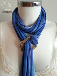 T-shirt scarf T-shirt necklace by Lulaor on Etsy