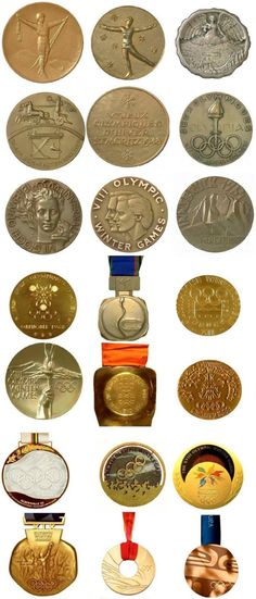 Previous Winter Olympic medals :)