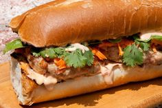 Banh Mi Chicken Burger Recipe - reduce salt, try 1/4 tsp at first try - fish sauce is very salty.