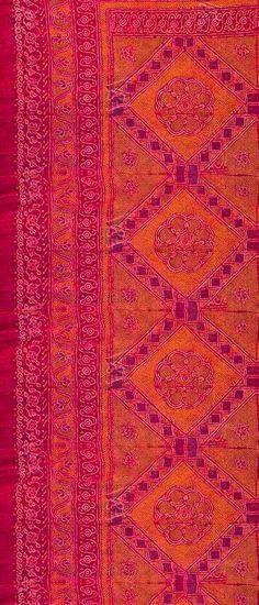 Textile Details ~ Pink and Orange